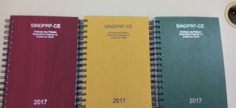 Associados ganham agenda 2017 do SINDPRF-CE