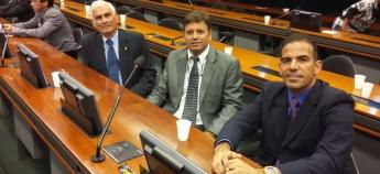Representantes do SINDPRF-CE participam de reunião para discussão do PL 5865/16