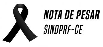 Nota de pesar - PRF Adalto Quintino da Silva