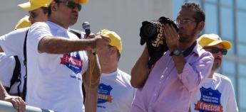 Discurso do Presidente do SINDPRF-CE, Lourismar Duarte, na Mobilização Nacional dos Policiais Rodoviários Federais que ocorreu no dia 11 de agosto, em Brasília-DF.